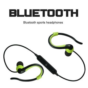 2016 Headphone Bluetooth berkualitas tinggi dengan Headset dan mikrofon (biru)- International - 2