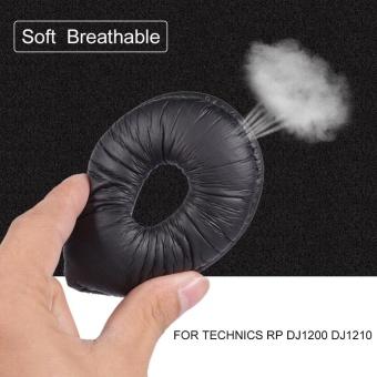 2PCS Headphone Earphone Soft Foam Ear Pad Earpad Cover Cusion for TECHNICS RP DJ1200 DJ121 - intl ...