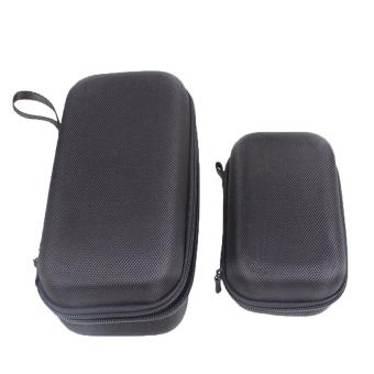 2Pcs Portable Shock-proof EVA Storage Bag Set Daily Life Waterproof Carrying Case Protection Box