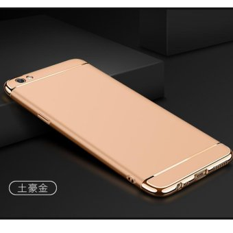 3 in 1 PC Protective Back Cover Case For OPPO F1s / OPPO A59 / OPPO A59s (Gold) - intl