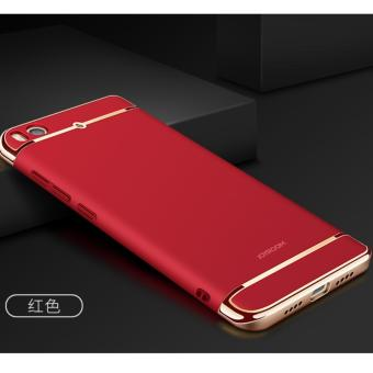 3 in 1 PC Protective Back Cover Case For Xiaomi Mi 5s (Red) - intl