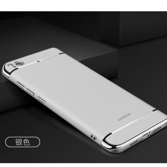 3 in 1 PC Protective Back Cover Case For Xiaomi Mi 5s (Silver) - intl