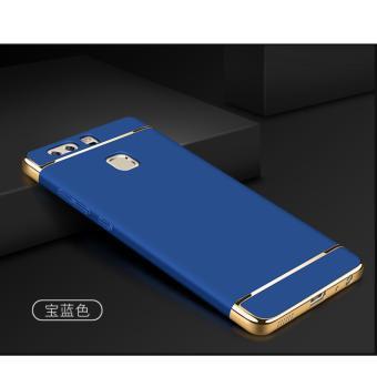 3 in 1 PC Protective Back Cover Case For Xiaomi Mi Max (Blue) -