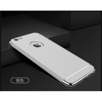 3 In 1 Ultra Thin and Slim Hard Case Shockproof Electroplate Frame for Apple iPhone 6 ...