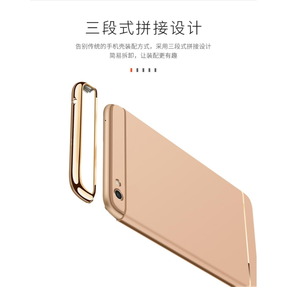 ... 3 in 1 Ultra thin PC hard cover case phone case for Oppo F3Plus(Rose ...