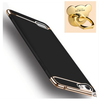 3 in 1 Ultra thin PC with Bear ring hard cover case phone case for OPPO