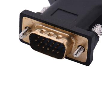 New Intl Harga 3 RCA RGB Video Female To HD15 Pin VGA Style .