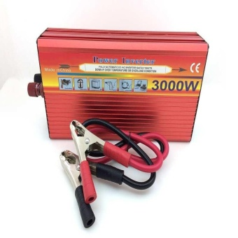 3000W Solar Car Power Inverter DC 12V to AC 220V Modified Sine Wave Charger - intl