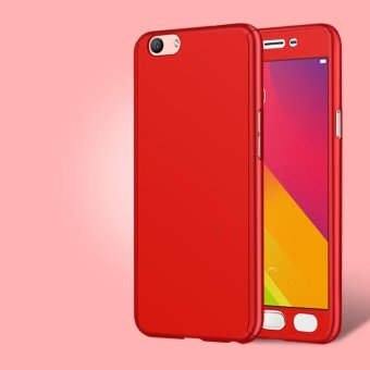 Online murah 360 Degree Full Body Protection Case 3 in 1 Thin Slim Frosted Matte Cover for OPPO F1s A59 - intl Hot Deals
