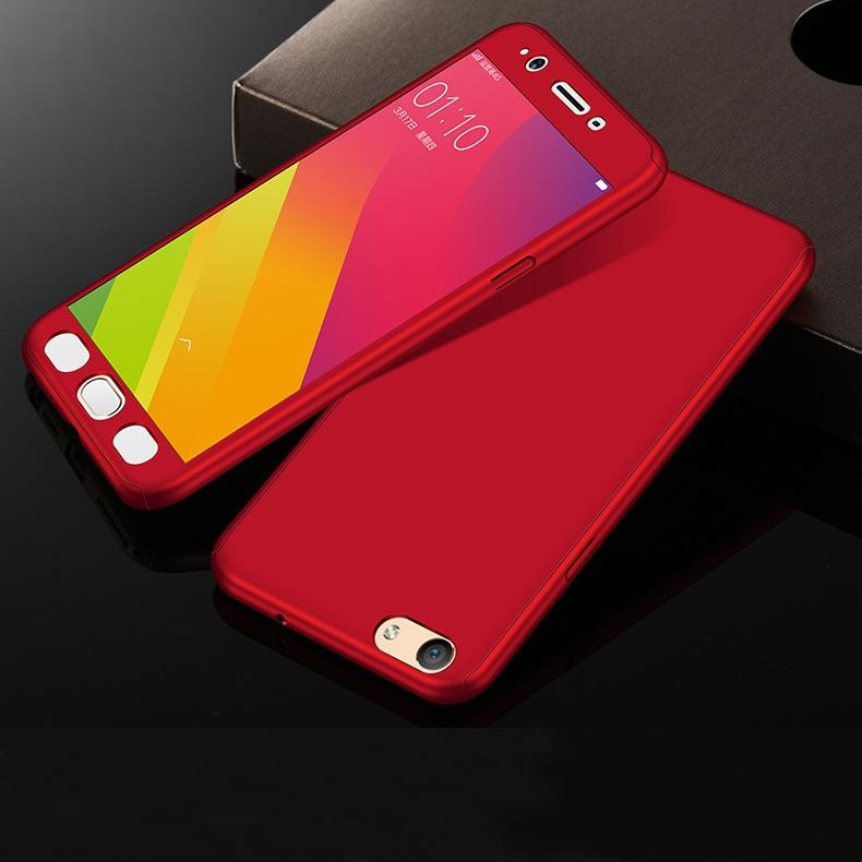 360 Degree Full Body Protective Case Hard Matte Frosted PlasticCover for VIVO Y53 - intl