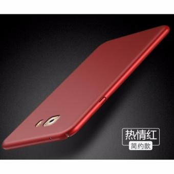 360 degrees Ultra-thin PC Hard case phone case for Samsung GalaxyC9/C9 Pro/Red - intl