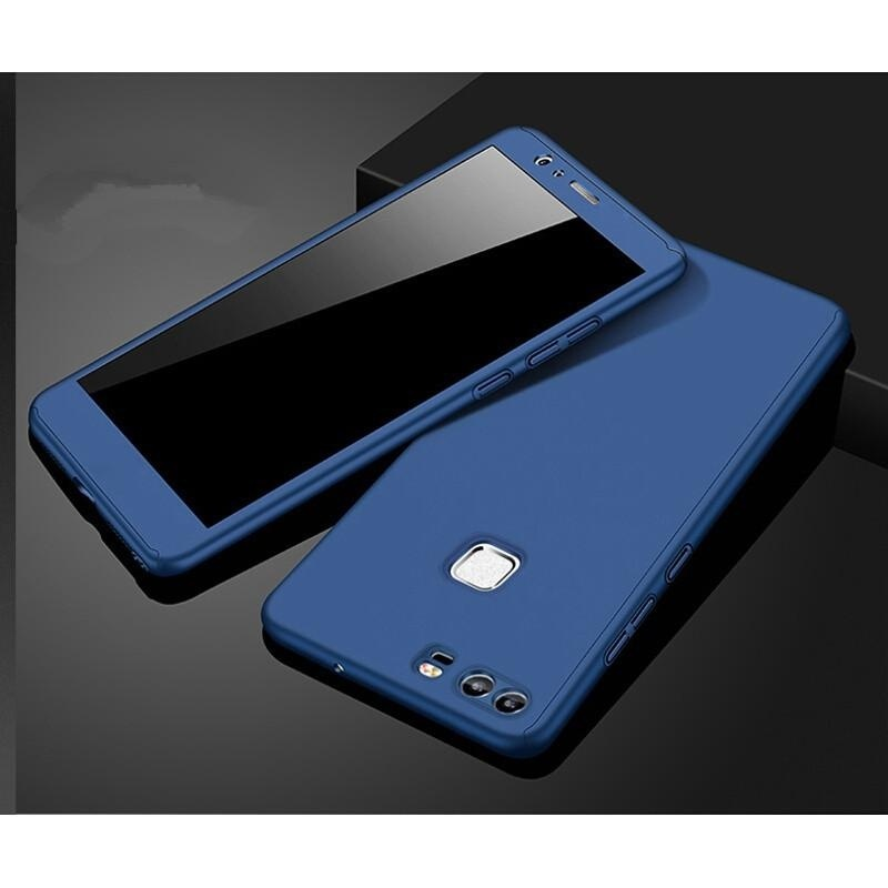 ... 360 Full Body Coverage Protection Hard Slim Ultra-thin Hybrid CaseCover & Skin with Tempered ...