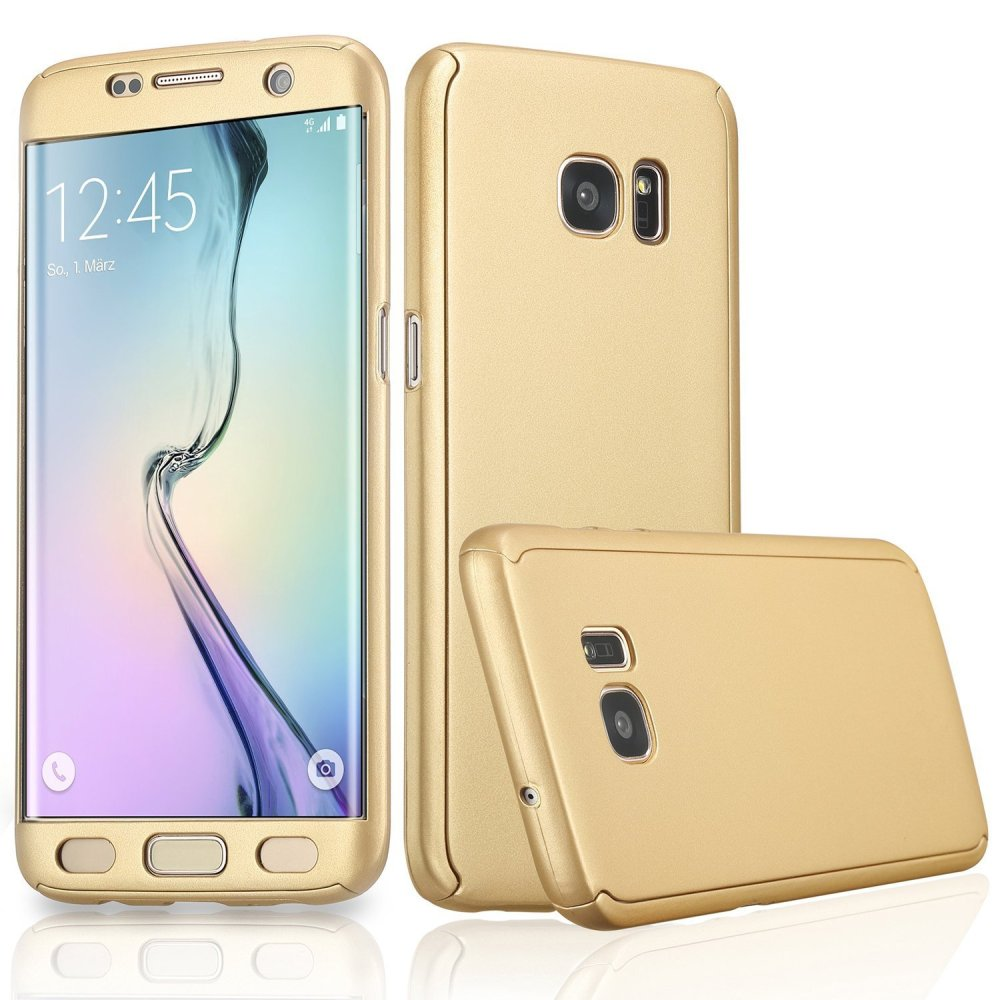 ... 360 Full Body Coverage Protection Hard Slim Ultra-thin Hybrid CaseCover for Samsung Galaxy S6 ...