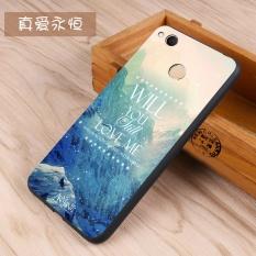 3D Fashion Pattern Cartoon Matting Silicone soft silicone/ TPUPhone Case / Anti falling Phone Cover