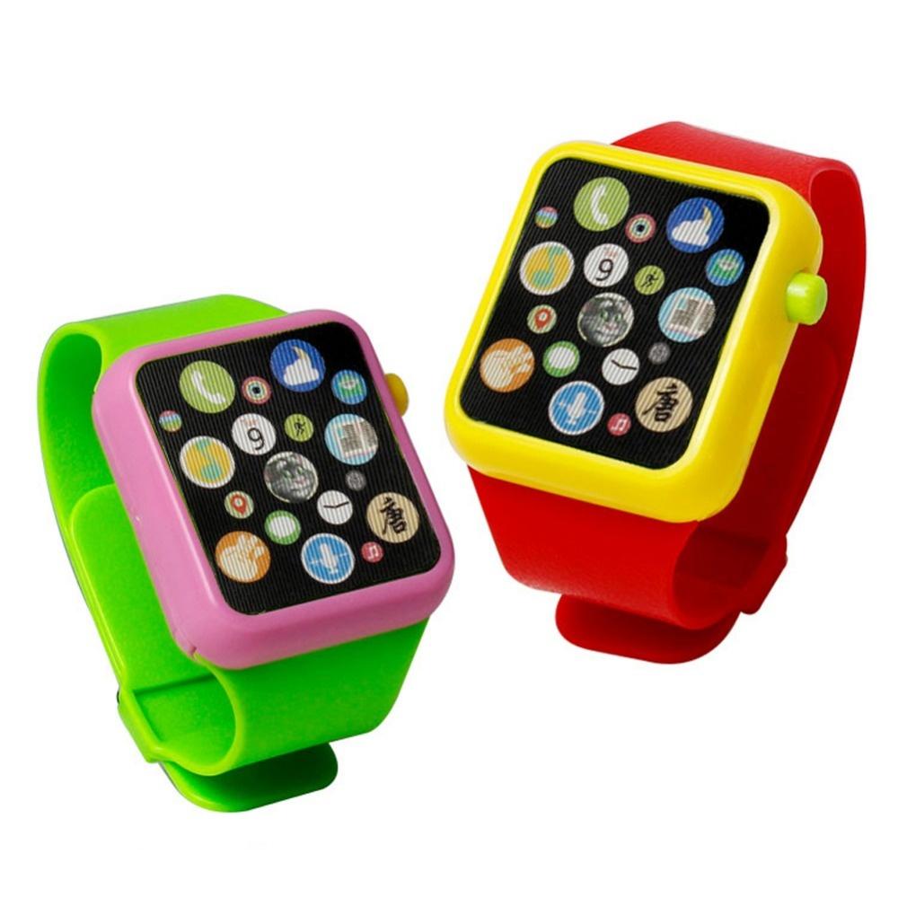 3D Music Learning Machine Smart Touch Screen Children Watches-Green - intl .