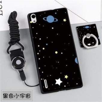 Silica Gel Lembut Telepon Case untuk Huawei Ascend P7 ...