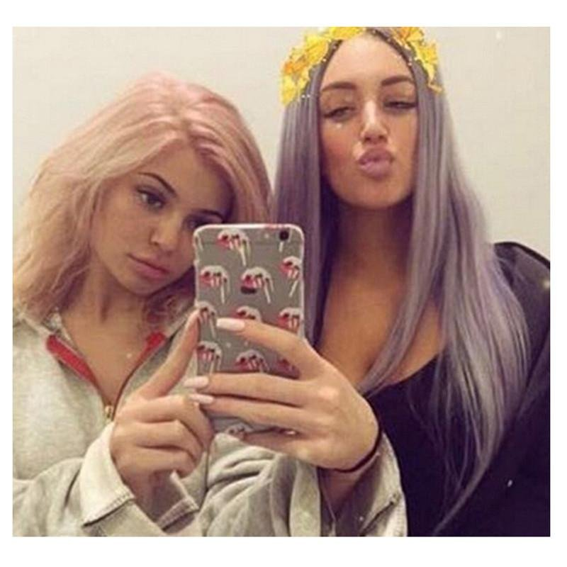 3D Stereo Kylie Jenner Lips Phone Case Cover For iphone 6s plus -intl .