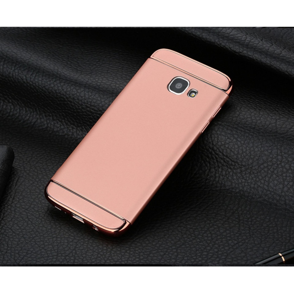 3in1 Ultra-thin Electroplated PC Back Cover Case for Samsung Galaxy A5 A510 (2016