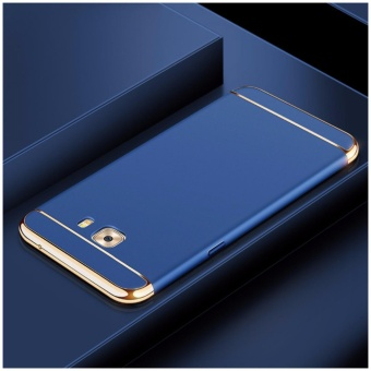 3in1 Ultra-thin Electroplated PC Back Cover Case for Samsung Galaxy C9 / C9 Pro - intl