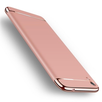 3in1 Ultra-thin Electroplated PC Back Cover Case for Vivo Y51 - intl