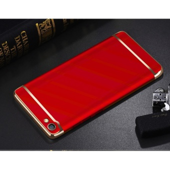 3in1 Ultra-thin Electroplated PC Back Cover Case for Vivo Y67 /Vivo V5 - intl