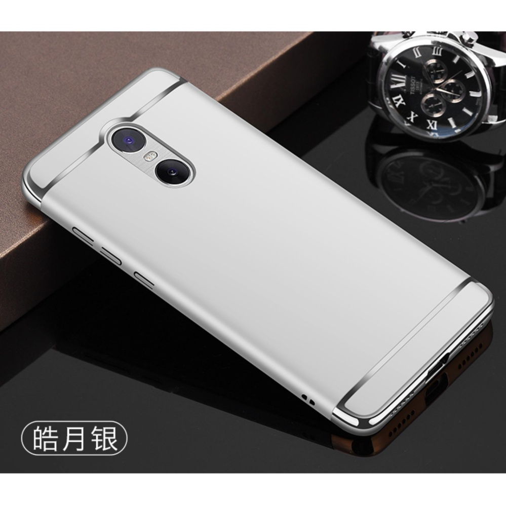 3in1 Ultra-thin Electroplated PC Back Cover Case for Xiaomi Redmi Note 4X 4gb RAM ...