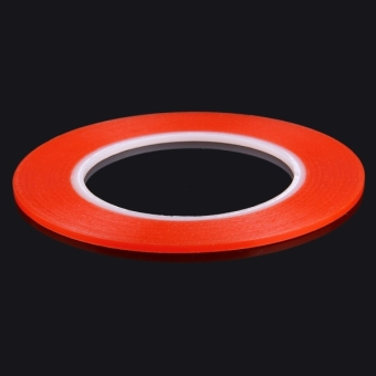 3mm 3M Double Sided Adhesive Sticker Tape for iPhone / Samsung /HTC Mobile Phone Touch Screen Repair, Length: 25m (Red) - intl