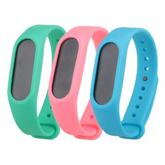Harga 3PCS Replacement Wristband Strap Bands for Xiaomi Mi Band 2/Miband2 band Smart Bracelet Accessories - intl