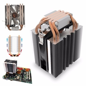 4 Heat Pipe CPU Cooler Cooling Heatsink for Intel LGA1150 1151 1155 775 1156 AMD -