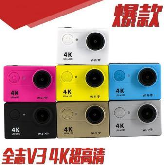 4 K Olahraga DV Action Camera Untuk Scuba Diving 30 M Tahan Air Action Camera Wifi Kecil Ukuran Kamera Olahraga Terbaik Untuk Traveling - Intl