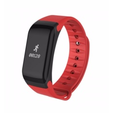 4Connect 4Fit  Blood Pressure  HR Multifuntion Smartband -Red