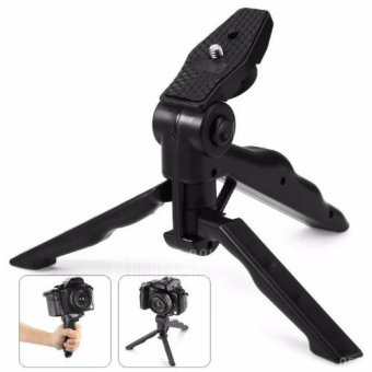 4Connect CP-GP264 2 in 1 Portable Mini Handle Folding Tripod -BLACK