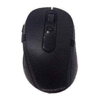 4connect Optical Wireless 2.4GHz Mouse -Black