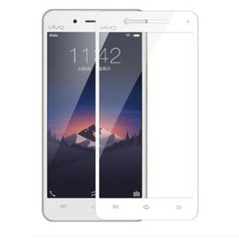 Tempered Glass Warna Full Cover Screen Protector VIVO V3 / V3 MAX Pelindung Layar Anti Gores