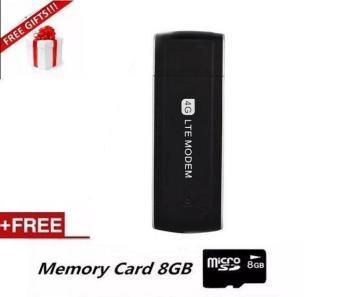 4G USB Modem with SIM Card Slot Unlock Universal Portable 100Mbps4G Modem - intl