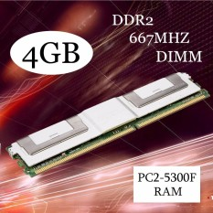 4GB DDR2 PC2-5300F 667MHz DIMM 240PIN CL5 ECC Server RAM Memory For Desktop White - intl