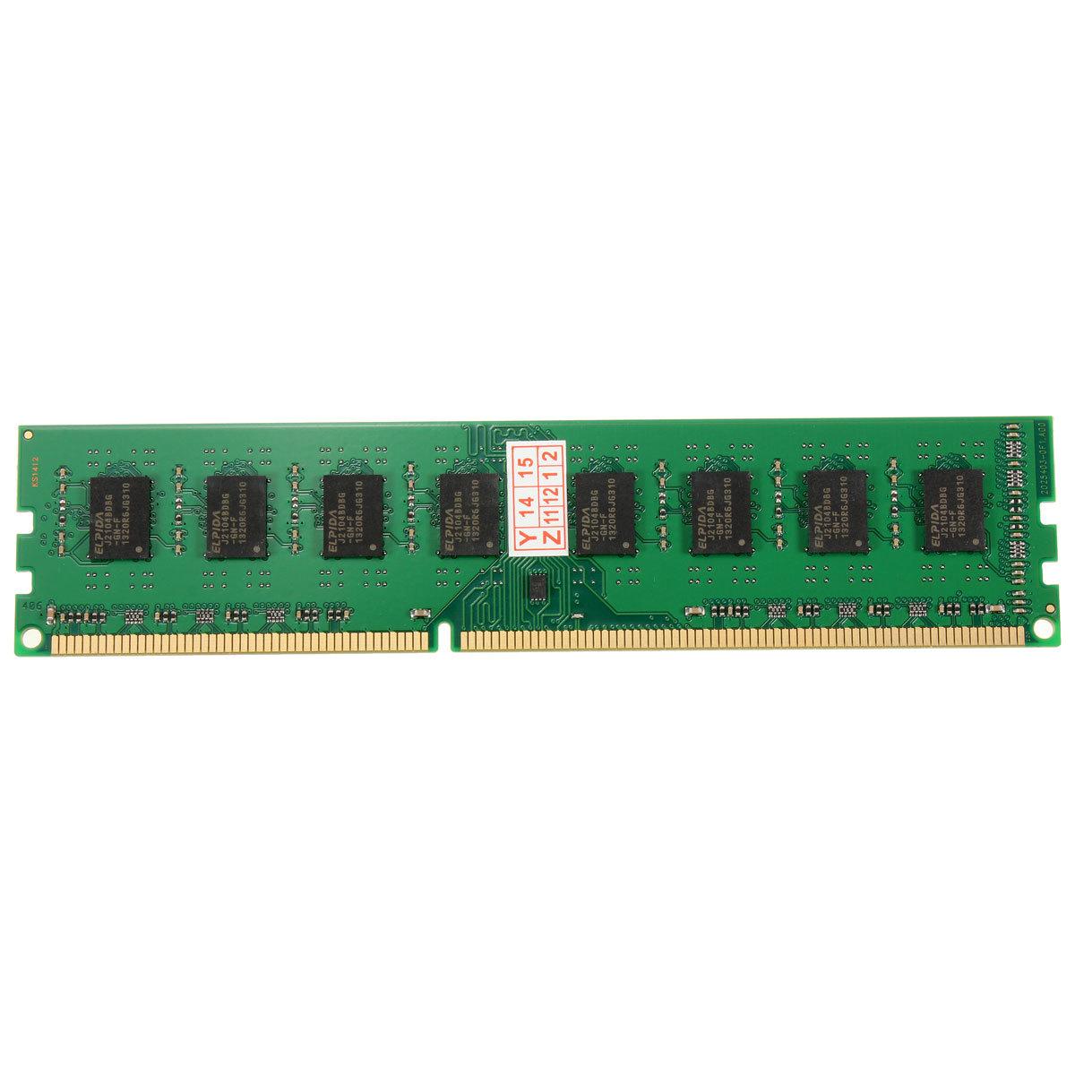 Harga Saya 4gb Ddr3 Pc3 12800 1600mhz Desktop Pc Dimm Memory Ram 240 Pc12800 Elpida Pins Foramd System