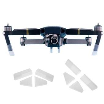 4pcs Silicone Protective Heighten Landing Feet Caps for DJI Mavic Pro Drone(White) - intl