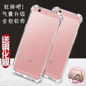 5C/5C/Mi5c Silikon Xiaomi Transparan Handphone Set Handphone Shell