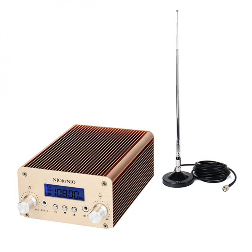 ... 5W/15W PLL Stereo FM Transmitter Radio Station XmitterWirelessIntelligent Broadcast System - intl ...