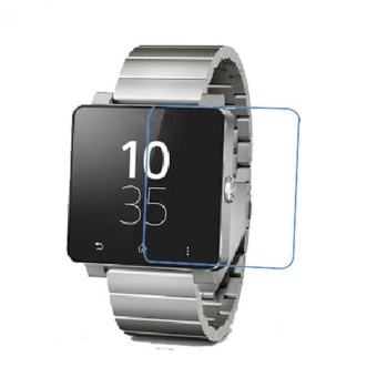 5x CLEAR LCD Screen Protector Film for Sony SW2 SmartWatch 2 SmartWatch - intl