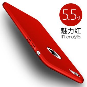 6 plus/iphone6 set ultra-tipis matte cangkang keras menjatuhkan resistensi shell telepon