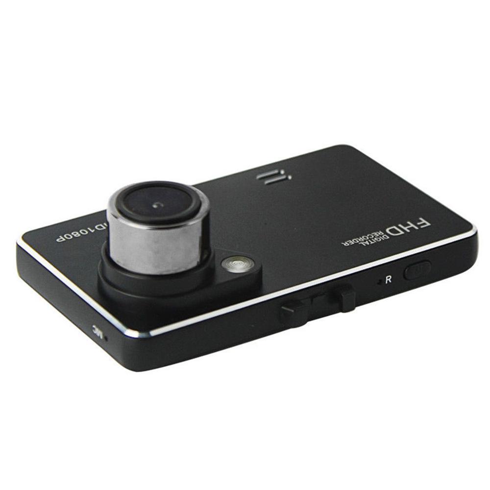6,86 cm 1080P HD DVR mobil sudut lebar lensa kamera perekam (hitam)