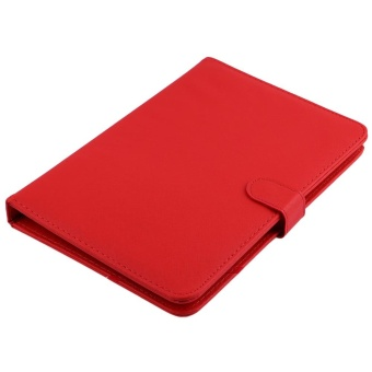 harga 7 ''Inch PU Leather Case Cover USB Keyboard Stand untuk Android Tablet PC Laptop-Intl Lazada.co.id