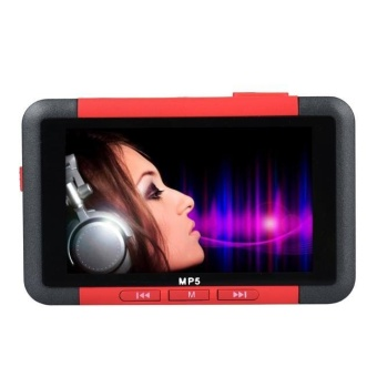 Harga 8GB Slim MP3 MP4 MP5 Music Player With 4.3'' LCD Screen FM RadioVideo Movie - intl