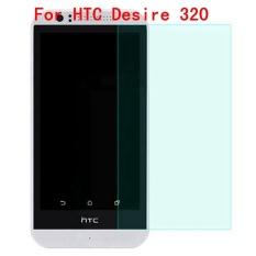 9 H Tempered Steel dengan Jelas Glass Ultra Tipis HD Anti Gores Layar Film Pelindung untuk HTC Desire 320 -Intl
