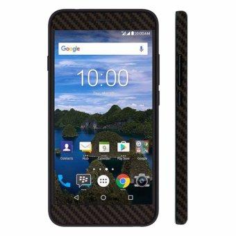 9Skin - Premium Skin Protector untuk Case Blackberry Aurora - Carbon Texture - Hitam - 2