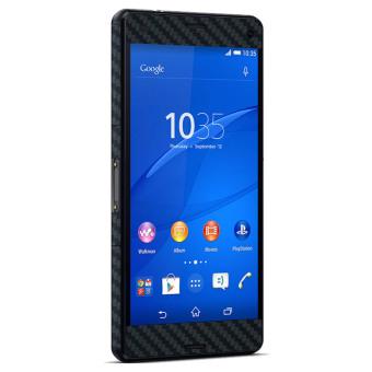 Harga 9Skin Premium Skin Protector untuk Sony Xperia Z3 Compact Carbon Fiber Texture Hitam Terbaru klik