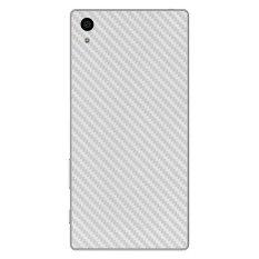 9Skin Premium Skin Protector untuk Sony Xperia Z5 Carbon Texture Putih Jual Pelindung .
