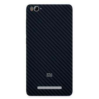 9Skin Premium Skin Protector Untuk Xiaomi Mi4i / Mi4c - Carbon Texture - Hitam